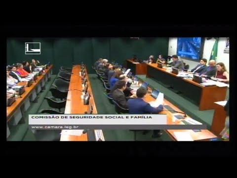 SEGURIDADE SOCIAL E FAMÍLIA - Reunião Deliberativa - 13/06/2018 - 10:18
