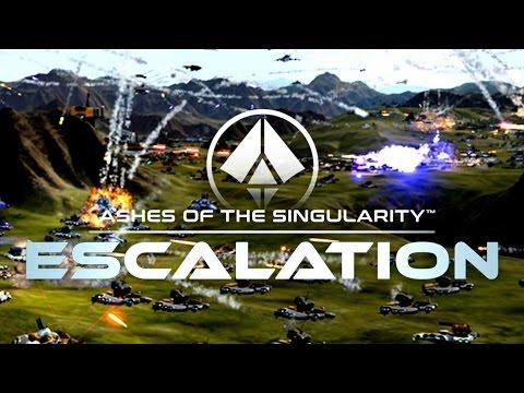 ASHES OF THE SINGULARITY: Escalation - El NUEVO SUPREME COMMANDER