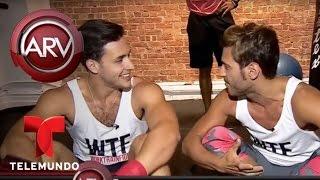 El Doctor Mike de Nueva York se pone en forma boxeando | Al Rojo Vivo | Telemundo