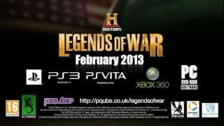 Legends of War | Preview Trailer and Developer Interview | Xbox 360, PS3 and PC | PQube Games