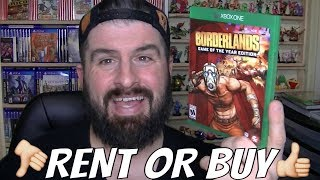 XBOX ONE X BORDERLANDS REMASTERED RENT OR BUY GAME REVIEW