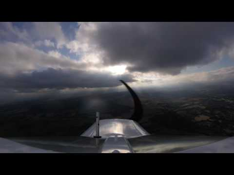 Flying under some interesting weather
