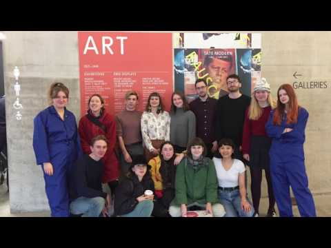 Kingston University fine art students take part in No Working Title 2017 at Tate Exchange