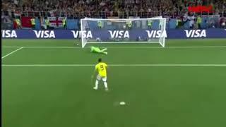 Серия пенальти под музыку Колумбия Англия