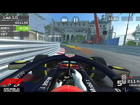 F1 Mobile Racing Monaco Qualifying Lap + Setup!