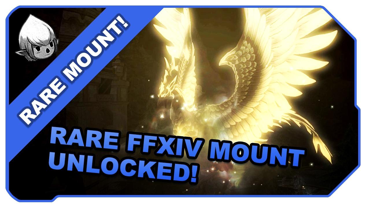 FFXIV: 3 5 Unlocking The Rare Firebird Mount! | FunnyCat TV