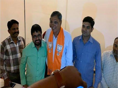 Govidji Solanki Join BJP in Gandhinagar