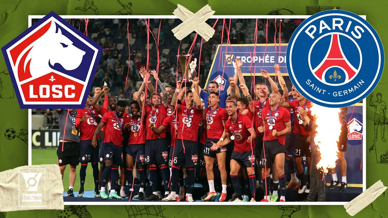 Download Lille vs PSG | TROPHEE DES CHAMPIONS HIGHLIGHTS | 8/1/21 | beIN SPORTS USA