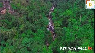Best Water fall in SL Aerial Photography  Sri Lanka Tourist Attraction Place