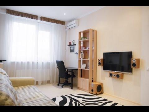 1-комнатная в центре с дизайнерским ремонтом