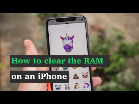 How to clear the RAM on an iPhone