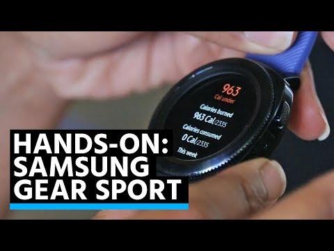 Prise en main de la Samsung Gear Sport : la force tranquille