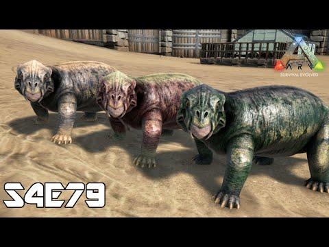 Ark Survival Evolved S4e79 V240 New Creature Lystrosaurusリストロ