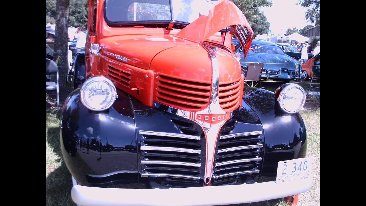 1941 Dodge Half Ton Pickup Truck Redblk Lakeland090114 Youtube Mercury Pick Up