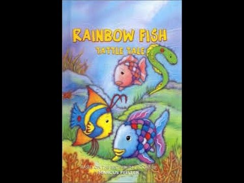 Rainbow fish tattle tale read along aloud story audio book for One fish two fish read aloud