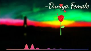 Duniya Female Version Ringtone | Download Link In The Description | Tone Boy |