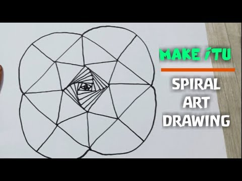 SPIRAL ART DRAWING