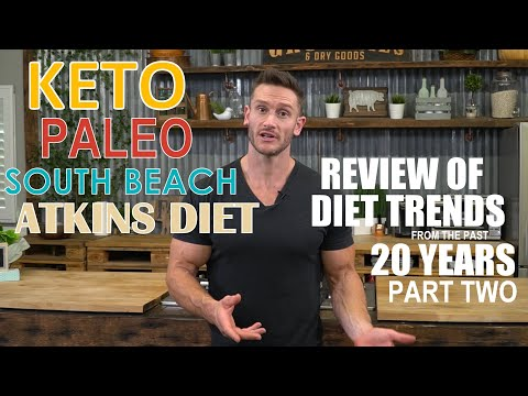 The Good and Bad Diet Trends of Past 20 Years (Keto, Paleo, South Beach & Atkins Diet ) Part Two