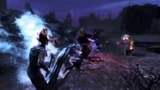 Skyrim Battles - Talos, Stendarr, & Auri-El vs Molag Bal & Volkihar Vampire Clan [Master Settings]