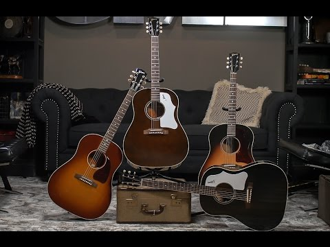 Gibson J-45 Limited-Edition Montana Collection I CME Acoustic Guitar Demo