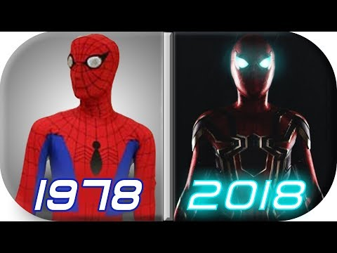 EVOLUTION of SPIDERMAN in Movies (1978-2018) Spiderman history infinity war