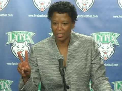 Post Game Audio with Coach Gillom: Minnesota Lynx vs. Chicago Sky 6-6-09