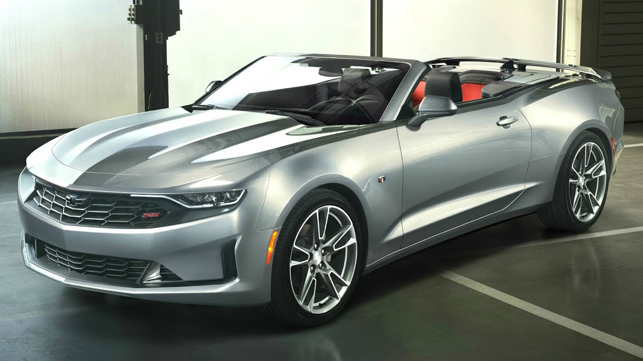 2019 Chevrolet Camaro Convertible RS - New Styling - YouTube