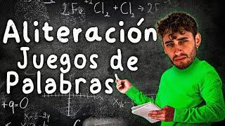 BLON REACCIONA A LA ALITERACIÓN | JUEGOS DE PALABRAS | LAS CLASES PARTICULARES DE TU PROFE PABLO 👨🏫