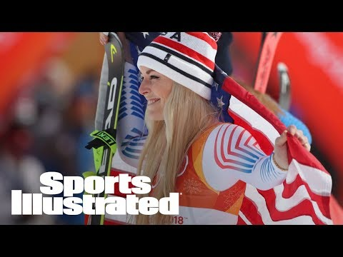 Lindsey Vonn Wins Bronze In Downhill At Pyeongchang 2018 | SI Wire | Sports Illustrated