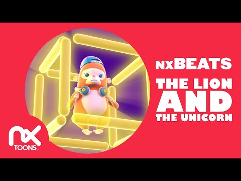 The Lion and the Unicorn (Lyrics) | English Nursery Rhymes by nxBEATS