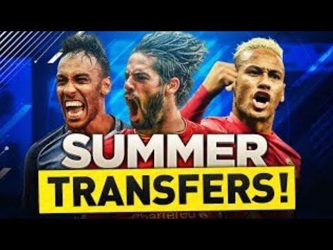 IBRAHIMOVIC TO LA GALAXY, NEYMAR TO PSG!!! POTENTIAL TRANSFERS-FIFA 18