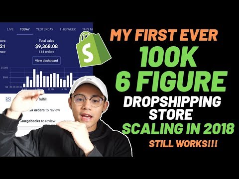 [Case Study] My First 100k Shopify Dropshipping Store || Testing & Scaling [Works in 2019] thumbnail