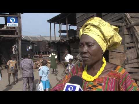 """Community Report: The Heroine Of Makoko """"MAMA AFRICA"""" 27/12/15 Pt. 2"""