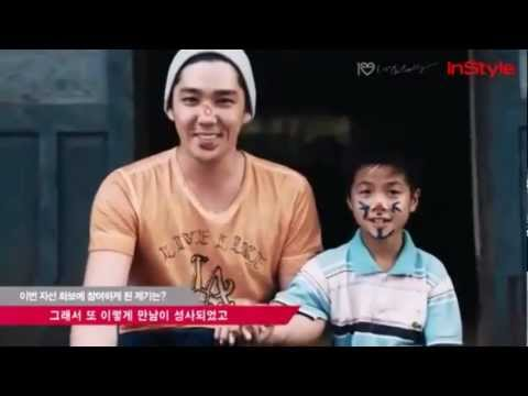 Kangin A Happy Time With Kids In Vietnam 2013
