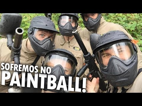 BATALHA SANGRENTA NO PAINTBALL CANADENSE! - Vlog Ep.68