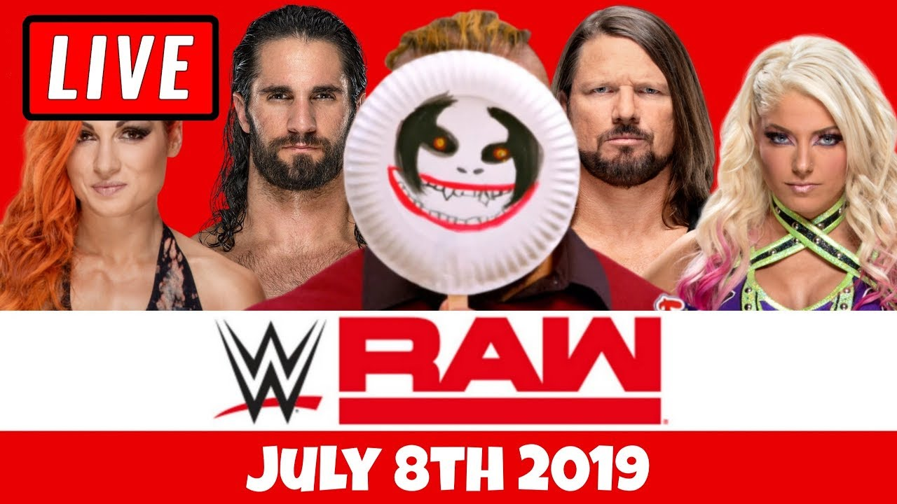 Download WWE RAW Live Stream Watch Along - Full Show Live Reaction July 8th 2019