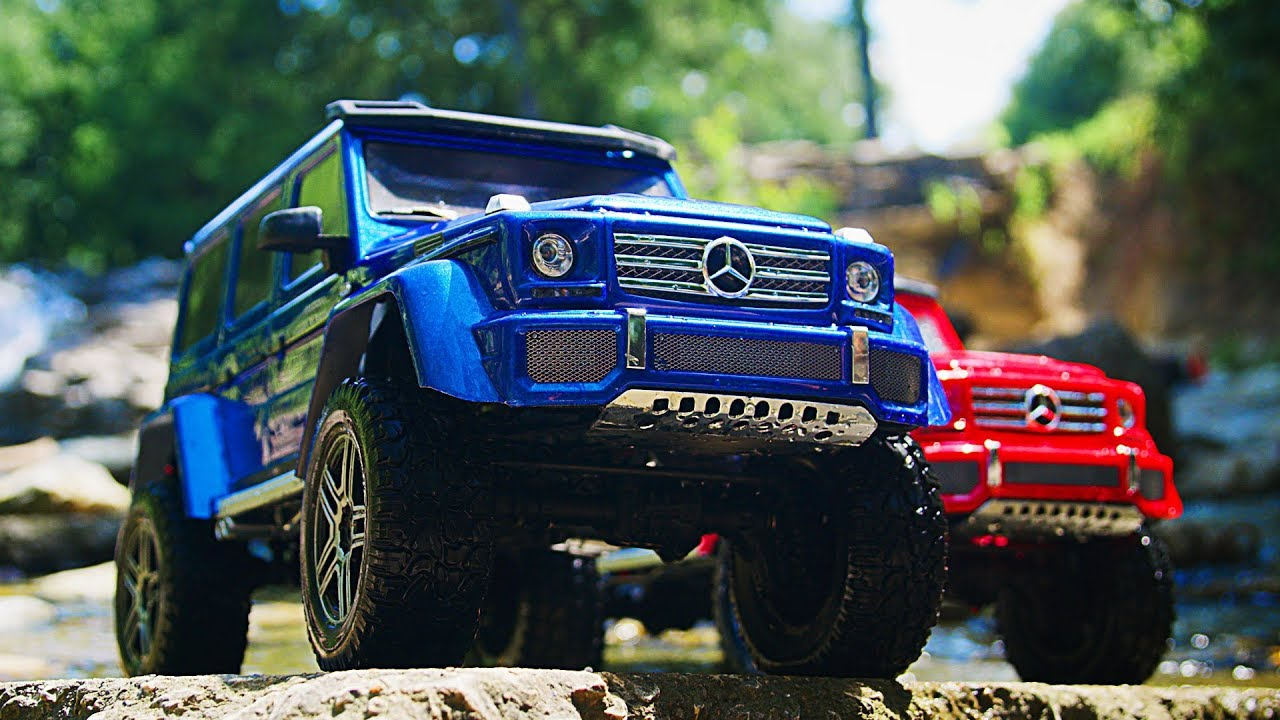 Traxxas TRX-4 Mercedes-Benz G 500 4X4² | Scale and Trail