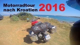 Motorcycle Tour Croatia 2016 | TRAILER