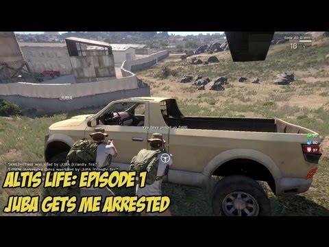 Altis Life: Episode 1, Juba Gets Me Arrested