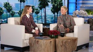 Drew Barrymore Talks