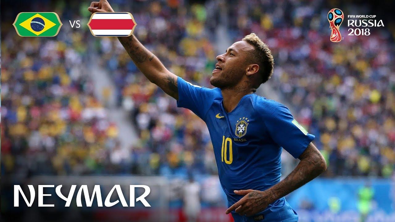 Download Neymar Goal - Brazil v Costa Rica - MATCH 25
