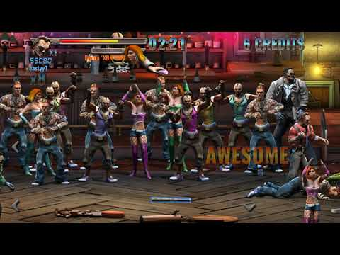 Raging Justice Second Stage Gameplay