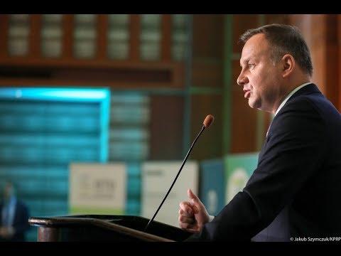 """Prezydent RP na konferencji """"Wczujmy się w Klimat"""""""