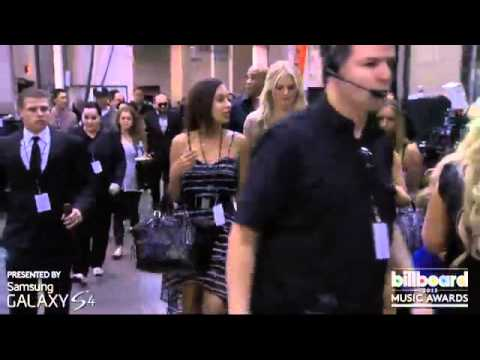 Christina Aguilera Backstage #3 Billboard Music Awards 2013