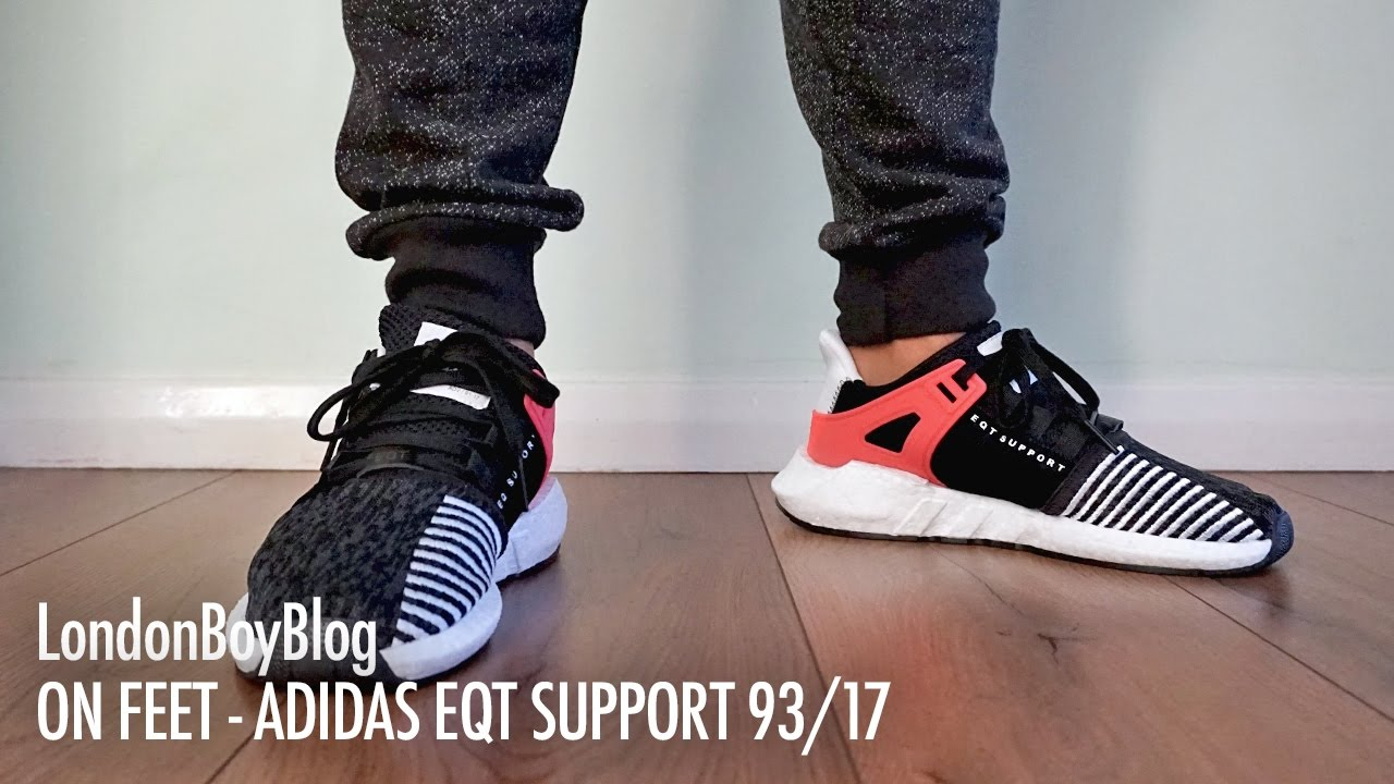 Adidas EQT Support 93/17 Black BB1236 sneakAvenue