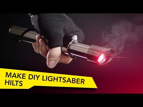 How To Make Epic DIY Lightsaber Hilts