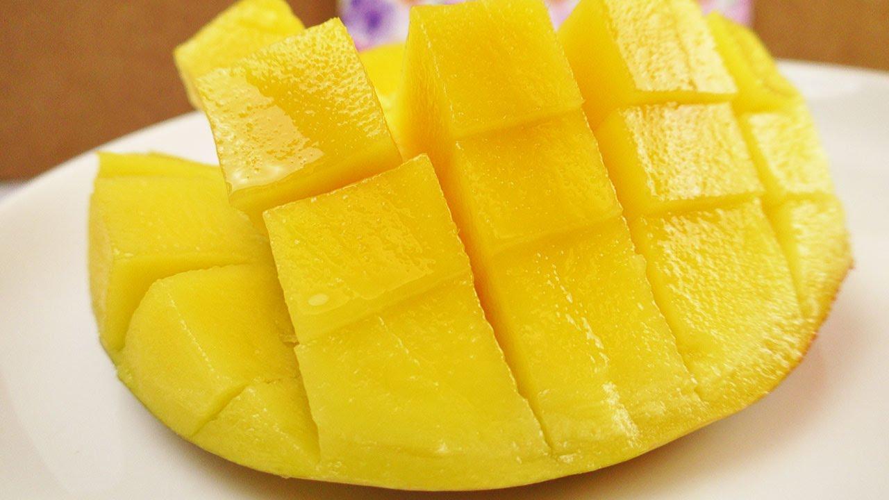 mango mit schale essen