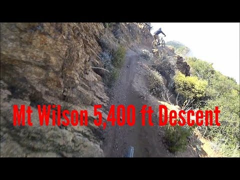 I survived another fall off the cliff at Mt Wilson