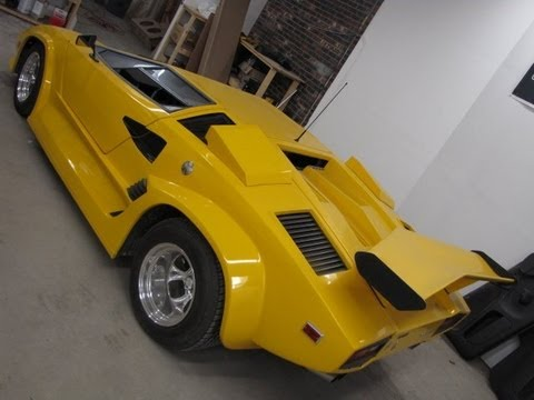 How To Build A Custom Dash And Console In A Lambo Kit Car Youtube