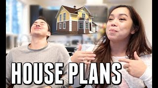 OUR NEW HOUSE PLANS! -  ItsJudysLife Vlogs